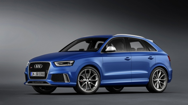Audi's new Q3 SUV is all about speed