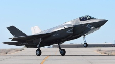 U.S. grounds F-35 fighter fleet