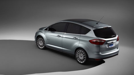 2012 Ford C-Max Energi is seen in this photo courtesy Ford Motor Company of Canada.