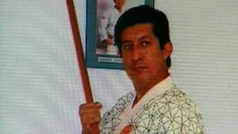 Jorge Vinicio Orantes Sosa is seen in this undated image taken from video.