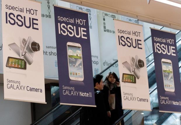 Samsung challenges Apple's iPad