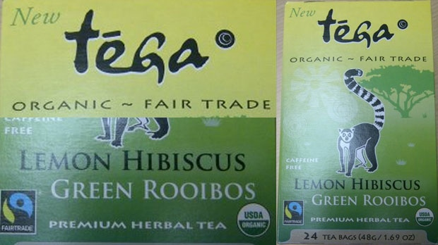 Tega Organic Lemon Hibiscus Green Rooibos
