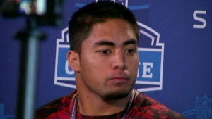 Football star Manti Te'o still in the spotlight