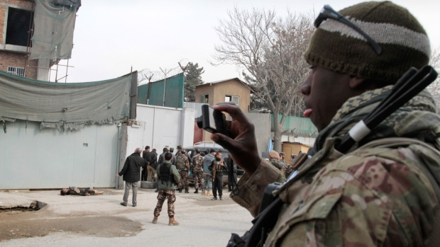 U.S. forces ordered out of part of Afghanistan