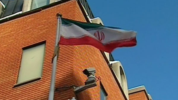 The Iranian embassy in seen on Wednesday, January 19, 2011.