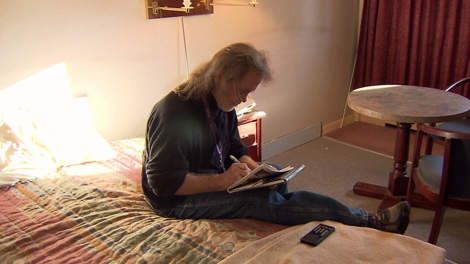 Daniel MacKinnon says he�s turning his life around thanks to an initiative in Vancouver that considers housing a human right.  Jan. 20, 2011. (CTV)