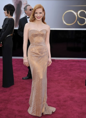 91_Oscar_Red_Carpet_Canadian_Jessica_Chastain