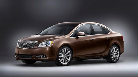 2012 Buick Verano is seen in this photo courtesy General Motors Canada.