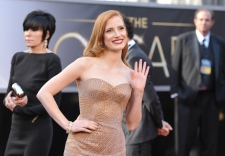 92a_Oscar_Red_Carpet_Canadian_Jessica_Chastain