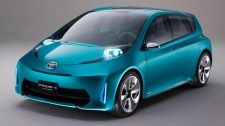 2012 Toyota Prius c concept is seen in this photo courtesy Toyota Canada.