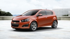 2012 Chevrolet Sonic is seen in this photo courtesy General Motors of Canada.