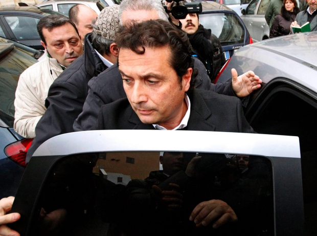 Francesco Schettino on Jan. 30, 2013.