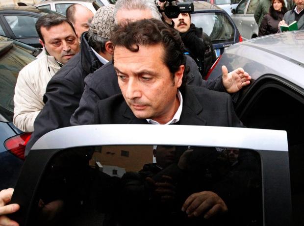 Francesco Schettino on Jan. 30, 2013.