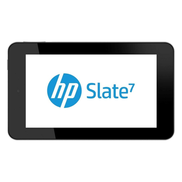 Undated HP image of the Slate 7.