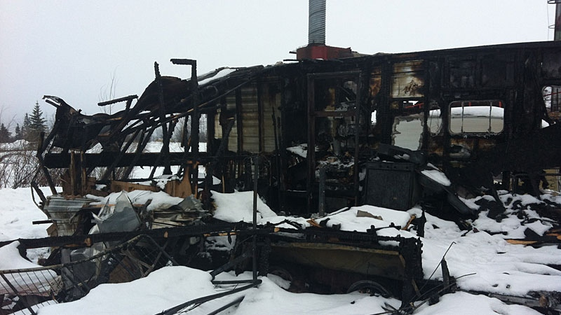 Friends and co-workers of a Slave Lake man injured after a recent trailer fire are hoping the community will come together to help the man on his road to recovery.