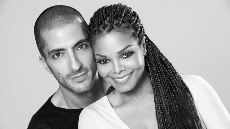 Janet Jackson and Wissam Al Mana are seen in a portrait taken by photographer Marco Glaviano in this 2012 publicity photo provided by Guttman Associates. (Guttman Associates / Marco Glaviano)