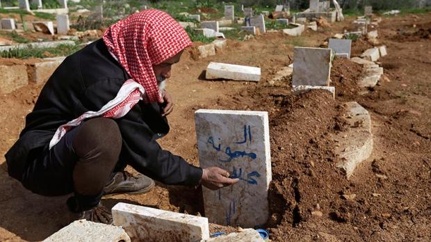 Syria airstrike civillians killed