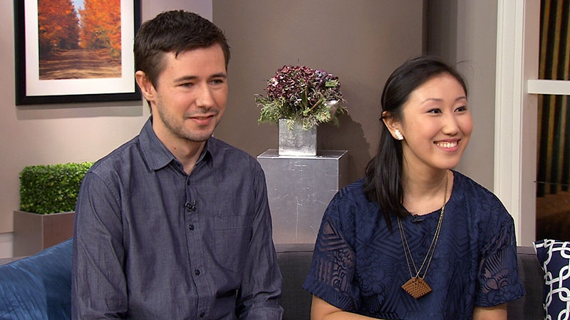 Hot Pop Factory's Matt Compeau and Bi-Ying Miao speak with Canada AM about 3D printing, Tuesday, Feb. 26, 2013.