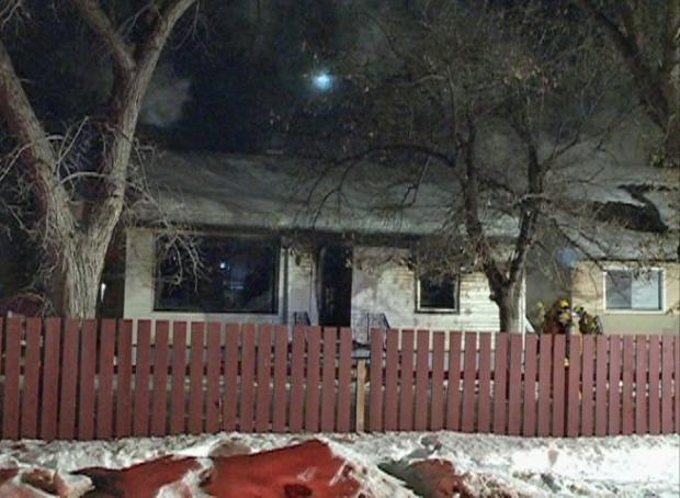 Robinson Street fire