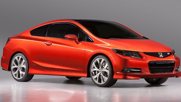 2012 Honda Civic is seen in this photo courtesy Honda Canada.