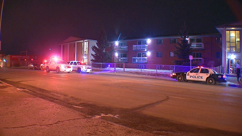 Police were called to the scene of a double stabbing in the area of 118 Ave. and 137 St., that left two teenaged boys suffering from non-life-threatening injuries early Tuesday, Feb. 26.