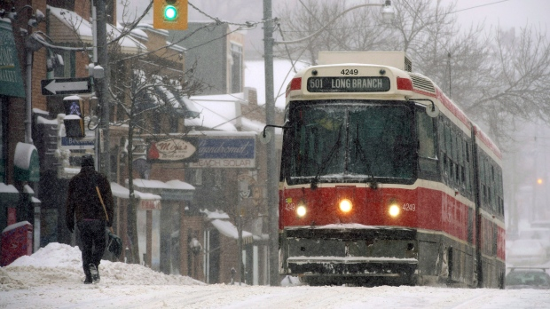 Up to 15 cm of snow expected in Toronto later this week