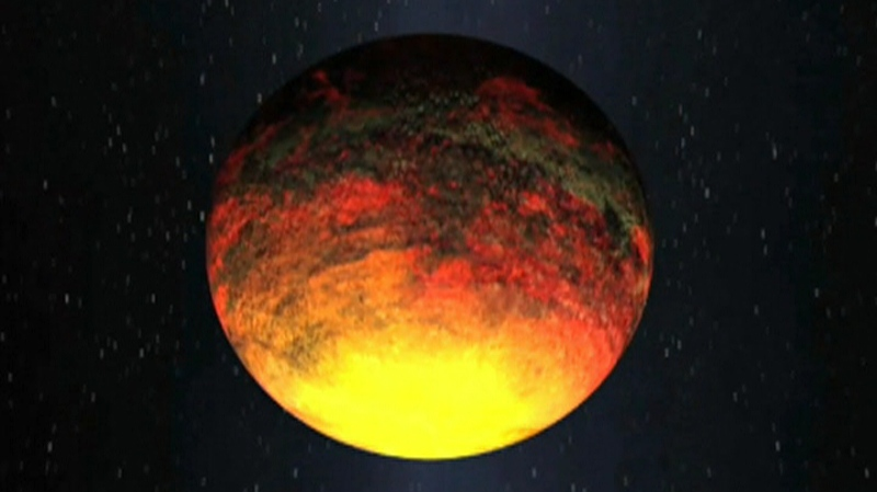 U.K. astronomers discover the hottest planet ever at 3,148 degrees Celsius.