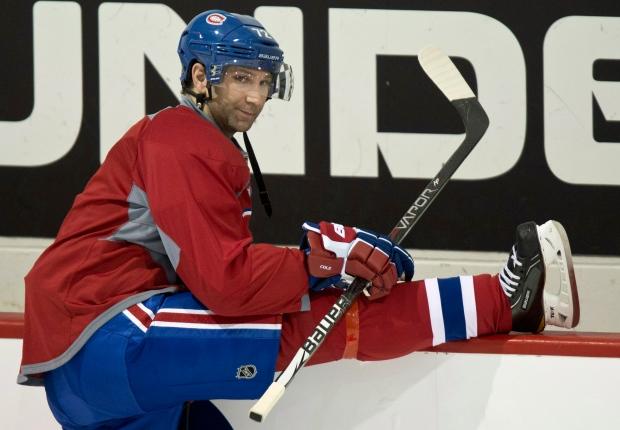 Montreal Canadiens Erik Cole