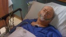 Jim Braybrooke collapsed at Peace Arch Hospital on Thursday morning. Jan. 20, 2011.