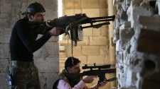 Syrian planes target rebels near Aleppo