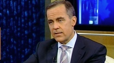 Bank of Canada governor Mark Carney appears on CTV's Question Period, Sunday, Jan. 23, 2011.