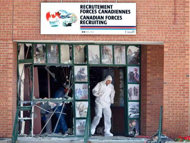 RCMP make arrest in CF recruitment centre bomb