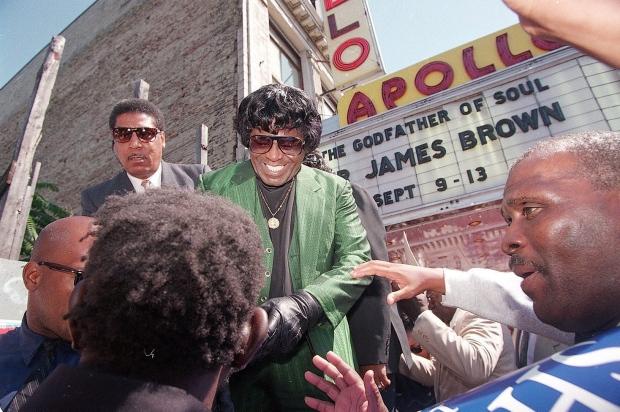 James Brown on Sept. 8, 1994.