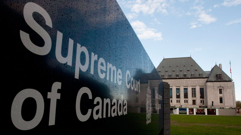 The Supreme Court of Canada in Ottawa on October 7, 2010. (Adrian Wyld / THE CANADIAN PRESS)