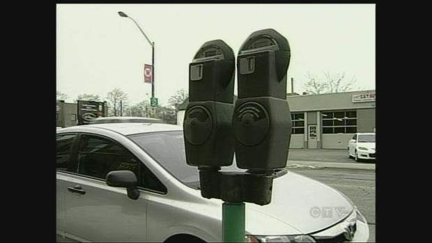 Walkerville parking meter