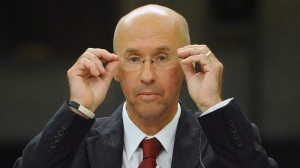 Parliamentary Budget Officer Kevin Page appears as a witness at Commons Public accounts committee on Parliament Hill in Ottawa on May 3, 2012. (Sean Kilpatrick / THE CANADIAN PRESS)