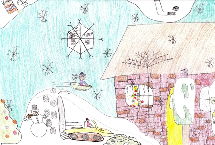 Thomas McMahon, Grade 3, North Stormont Public School