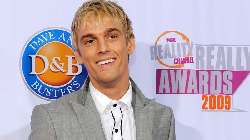Aaron Carter arrives at the 2009 Fox Reality Channel Really Awards in Los Angeles, Tuesday, Oct. 13, 2009. (AP / Chris Pizzello)