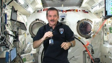 Canadian astronaut Chris Hadfield