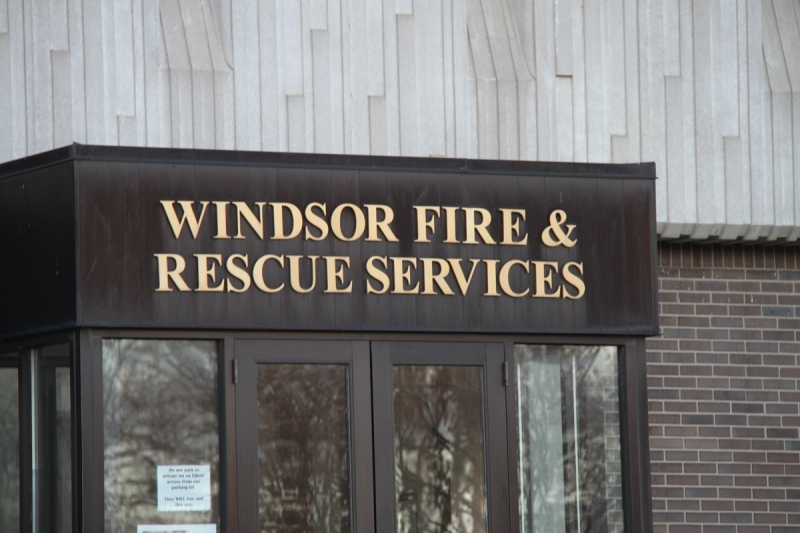 The Windsor Fire and Rescue Services building is shown in this file photo in Windsor, Ont., Dec. 5, 2012. (Melanie Borrelli / CTV Windsor)
