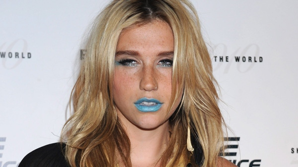 "Singer Kesha arrives at the ""Casio Shock the World 2010"" event at the Manhattan Center, in New York, Monday, Aug. 2, 2010. (AP / Louis Lanzano)"