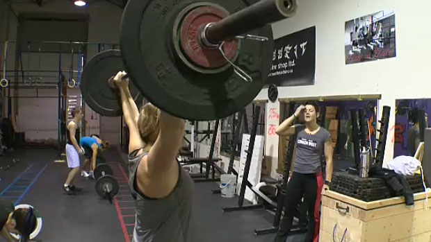 Brenda Smith, 51, says she's in the best shape of her life - and credits that to Crossfit. She says she's seen her strength improve immensely thanks to the intense workout.
