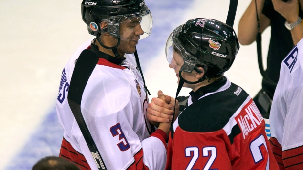 Hockey group warns about aggressive handshakes