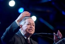 Jacques Parizeau at Option Nationale congress