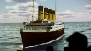 Guests attend a gala breakfast in Halifax as plans to build a replica of the Titanic are explained on Friday, March 1, 2013. Clive Palmer, chairman of Blue Star Line, intends to build the Titanic II and sail it from Southampton to New York in 2016. (Andrew Vaughan/ THE CANADIAN PRESS)