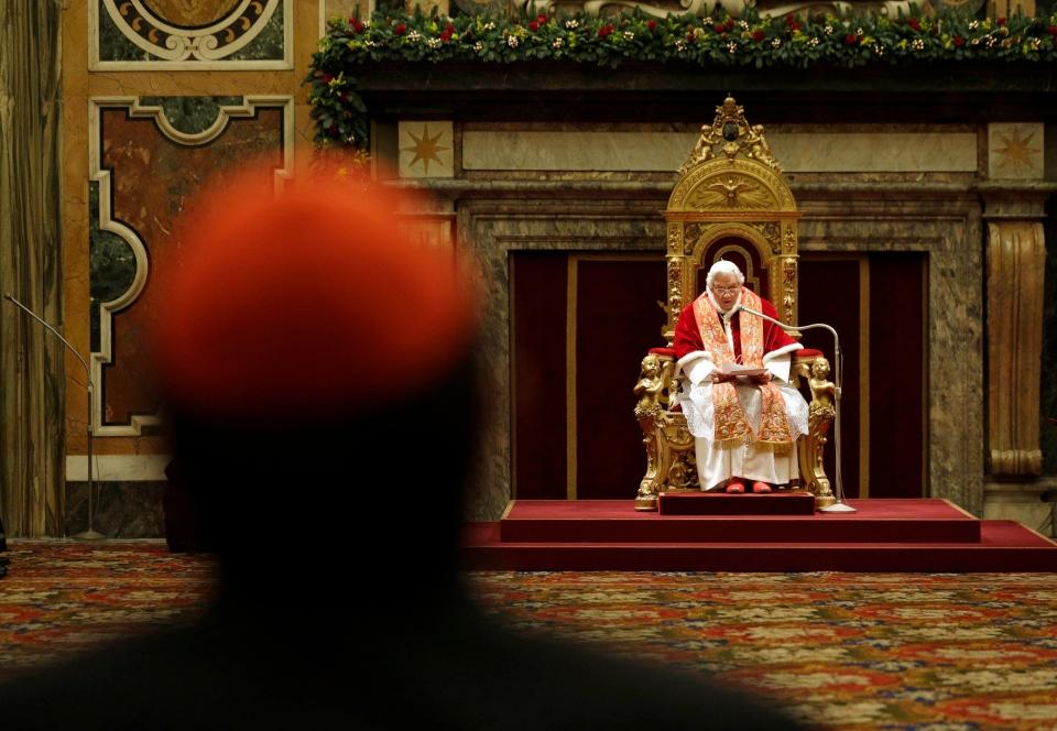 Pope Benedict, Roman Curia