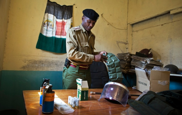 Kenyan officials warn of attacks ahead of election