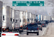 U.S. spending cuts will affect border wait times