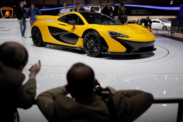 McLaren P1 spyder