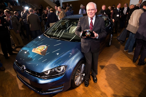VW Golf named European 'Car of the Year 2013'